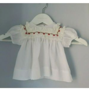 Baby girls vintage shirt blouse fits 6-12 months